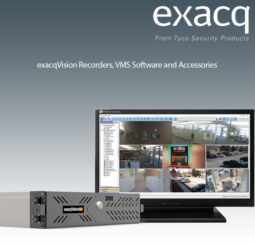 Exacq Online Product Catalog for exacqVision Video Security Servers
