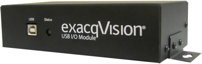 exacqVision USB I/O Module to expand your video surveillance system