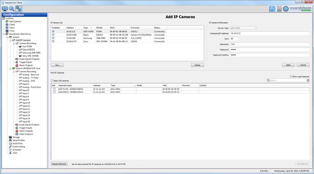 exacqVision Start Video Management System Software | Exacq