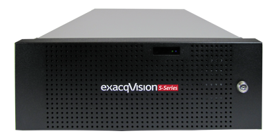 exacqVision S-Series video security storage device
